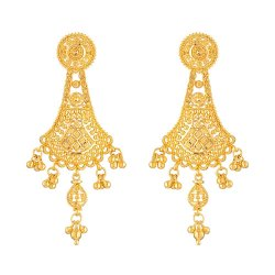 32084 - 22 Carat Gold Filigree Earring