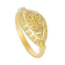 28334 - 22ct Indian Gold Ladies Ring