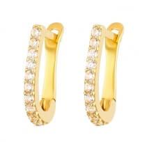 32284 - 22ct Gold CZ Earrings