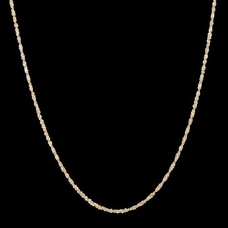 28656 - 22ct Gold Ripple Chain
