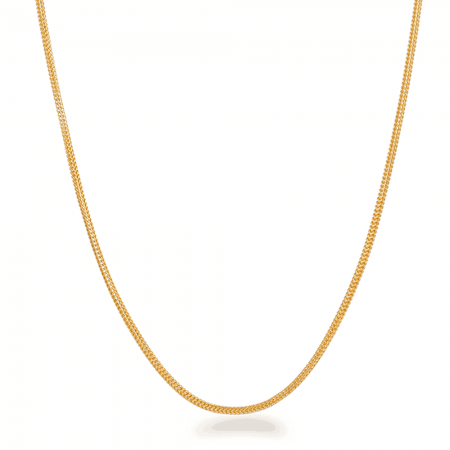 28369 - 22ct Gold Foxtail Chain 22Inches