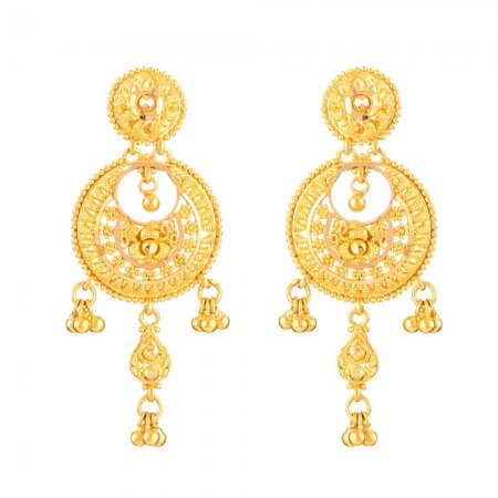 - 22ct Gold Indian Bridal Earring