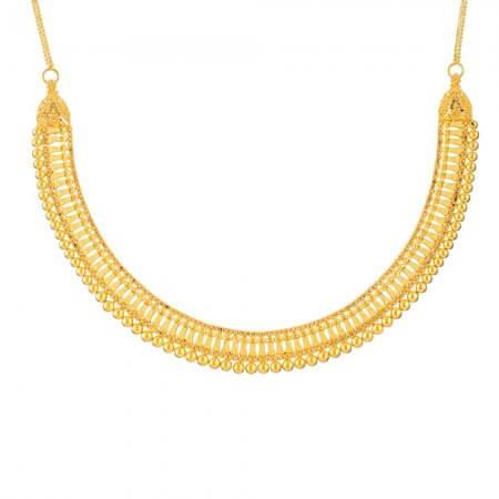 32071 - Jali 22ct Gold Filigree Necklace
