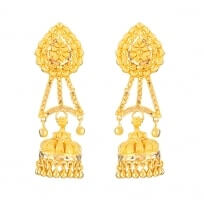32072 - 22ct Gold Bridal Earring