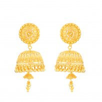 32360 - 22ct Gold Bridal Earring