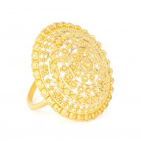 28631 - 22ct Yellow Gold Cubic Zirconia Bracelet