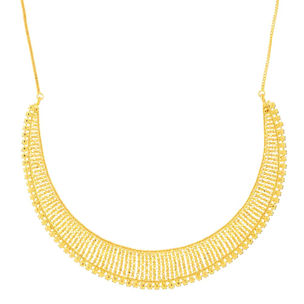 22ct Gold Necklace_32372