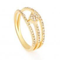 32654 - 22 Carat Gold Pendant with Rhodium finish