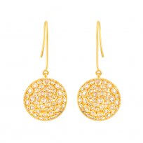 32680 - 22ct Gold Polki Earrings
