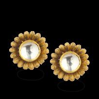 27616 - 22ct Gold Armari Stud Earring