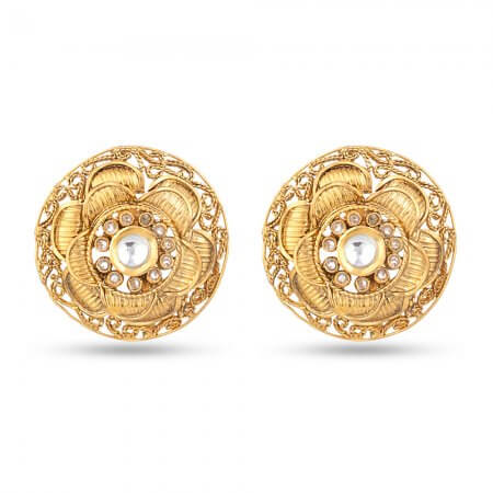 22ct Antique Stud