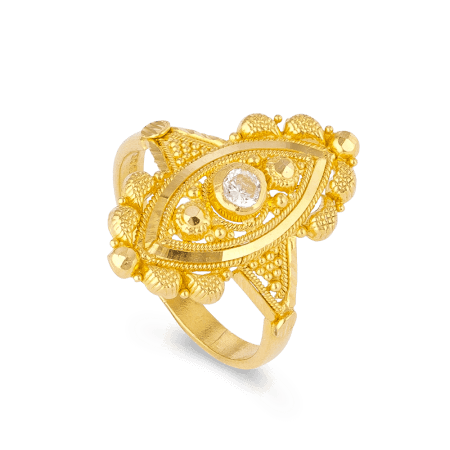 22ct Gold Ladies RingWith Filigree DesignRing wt. 2.3 gRing Size F1/2All our products are hallmarked by London Assay OfficeComes With Presentation BoxDelivery IncludedAll prices include VATLive chat with us for availability and more images of similar designs currently in stock