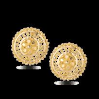 28679 - 22ct Yellow Gold Stud Earrings