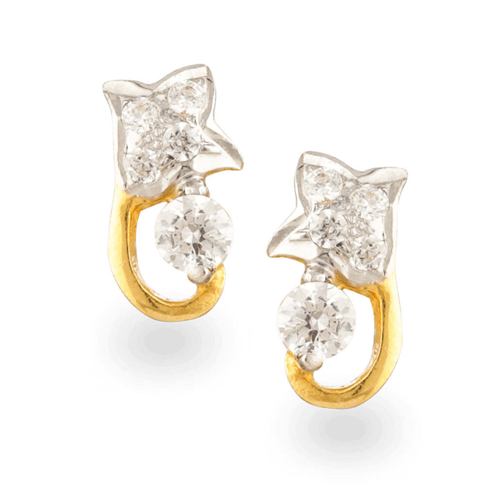 22ct Gold Earrings with CZ stonesWt. 2.0 gSKU. 24432All prices include VATAll our Products are Hallmarked by London Assay OfficeComes With Presentation BoxDelivery IncludedContact us / Chat with us for Video of Product