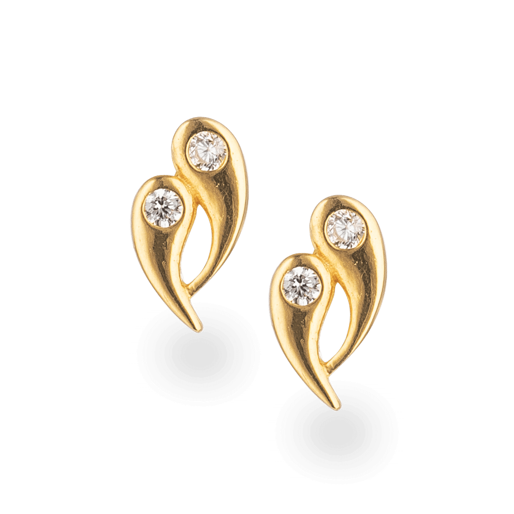 22 Carat Gold Stud EarringStudded with CZ stonesWt. 1.6 gSKU. 28531All prices include VAT22ct GoldHallmarked by London Assay OfficeComes With Presentation BoxDelivery IncludedLive chat with us for availability and more images of similar designs currently in stock