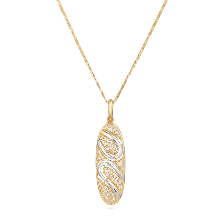 22ct Gold Party Pendant