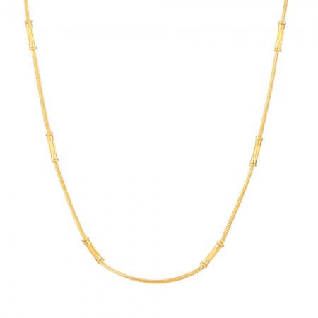22 Kt Yellow Gold Choker chain