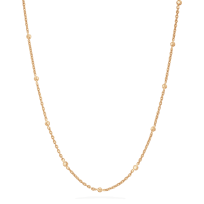 27803 - 22 carat Gold Chain with Polki Stones