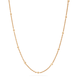 Anusha 22ct Polki Medium 20Inches Polki Chain Chain ANCH063