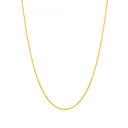 22ct Yellow Gold Spiga Chain