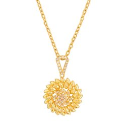Diya 22ct Gold Uncut Polki Diamond PendantWeight of the Pendant in 22ct gold is  9.5 grmsUncut Polki Diamond  wt.  1.00  CaratsPendant comes without the chainSKU. 32689All prices include VAT22ct Gold Hallmarked by London Assay OfficeComes With Presentation BoxDelivery IncludedLive chat with us for availability and more images of similar designs currently in stock