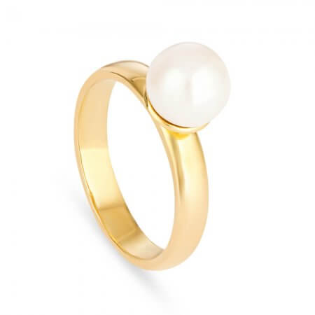 22 carat Gold Pearl Ring UK