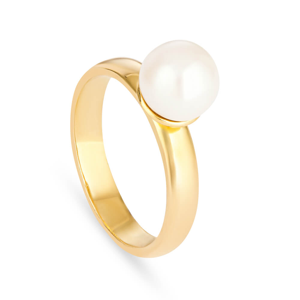 22 Carat Gold Pearl Ring UKRing wt. 7.2 gmsRing Size. Q 1/2All our Products are Hallmarked by London Assay OfficeComes With Presentation BoxDelivery IncludedAll prices include VATContact us / chat with us for Video of the Product