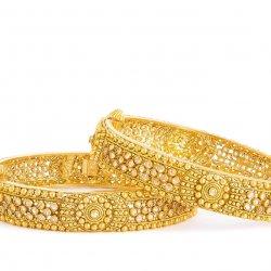 Armari Collection 22ct Gold Polki Kada ARKD105