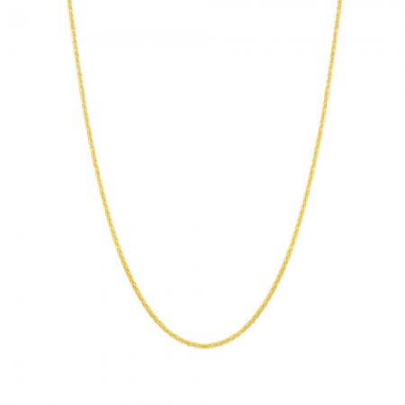 22ct Gold Spiga Chain in 20 Inches