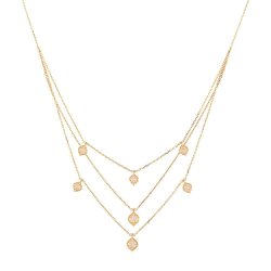 18ct Rose Gold NecklaceWeight. 5.2gmLength. 18 InchesSKU. 32018All prices include VATAll Our Products are Hallmarked by London Assay OfficeAll our Diamond Jewellery Sets comes with presentation boxDelivery IncludedContact us / Chat with us for video of Product