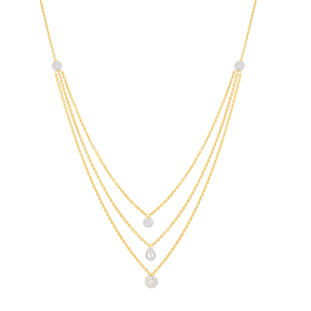 22 Carat Gold Choker NecklaceThree layered Choker Necklace with CZ PendantsWt. 10.2 gmSKU. 32718All prices include VATAll our Products are Hallmarked by London Assay officeAll Sets Comes With Presentation BoxDelivery IncludedContact us/live chat with us for video of product