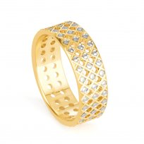 32657 - 22ct Asian Gold Band Ring