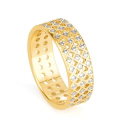 22ct Gold Band Ring with Rhodium PlatedRing wt. 5.2 gmsRing Size. L 1/2SKU. 32657Can be made to order to your finger sizeAll our products are hallmarked by London Assay OfficeComes With Presentation BoxDelivery IncludedAll prices include VATContact us / chat with us to see video of product