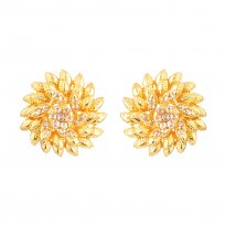 32688 - Diya Collection 22ct Gold Earring