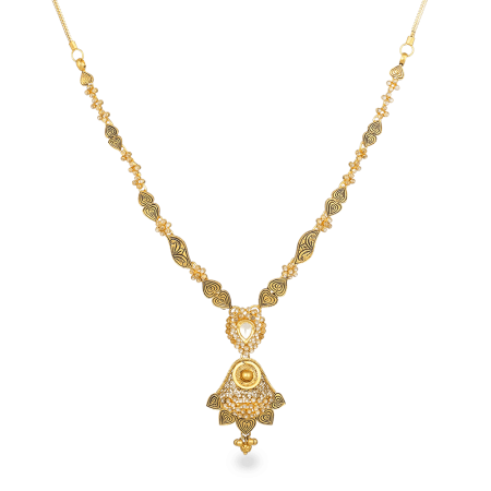 22ct Gold Polki Necklace