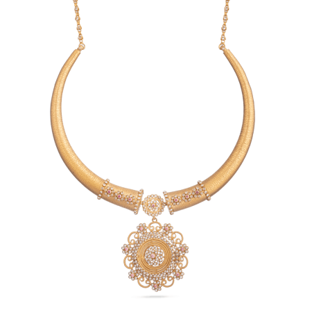 Indian Gold Bridal Necklace Set