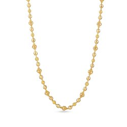 22ct Yellow Gold Long Mala Chain