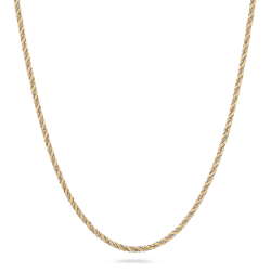 18 Carat Yellow Gold Rope Chain in 16 inches