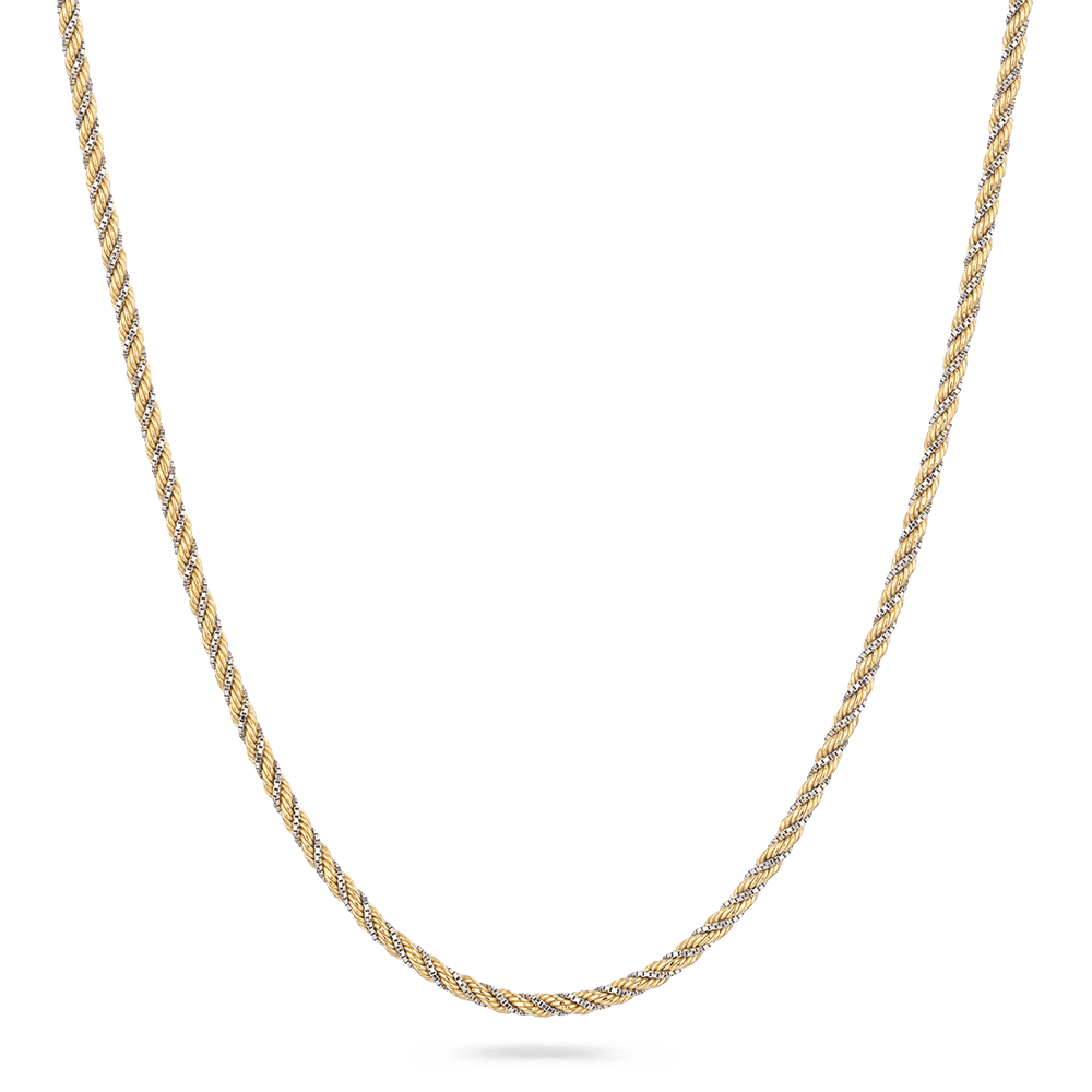 18 Carat Yellow Gold Rope Chain in 16 inchesWt. 8.9 gLength. 16? inchesSKU. 26053All prices include VATAll our products are hallmarked by London Assay OfficeComes With Presentation BoxDelivery IncludedContact us / chat with us on to see video of product