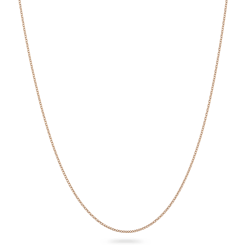 18ct Rose Gold Chain 18″ Inches