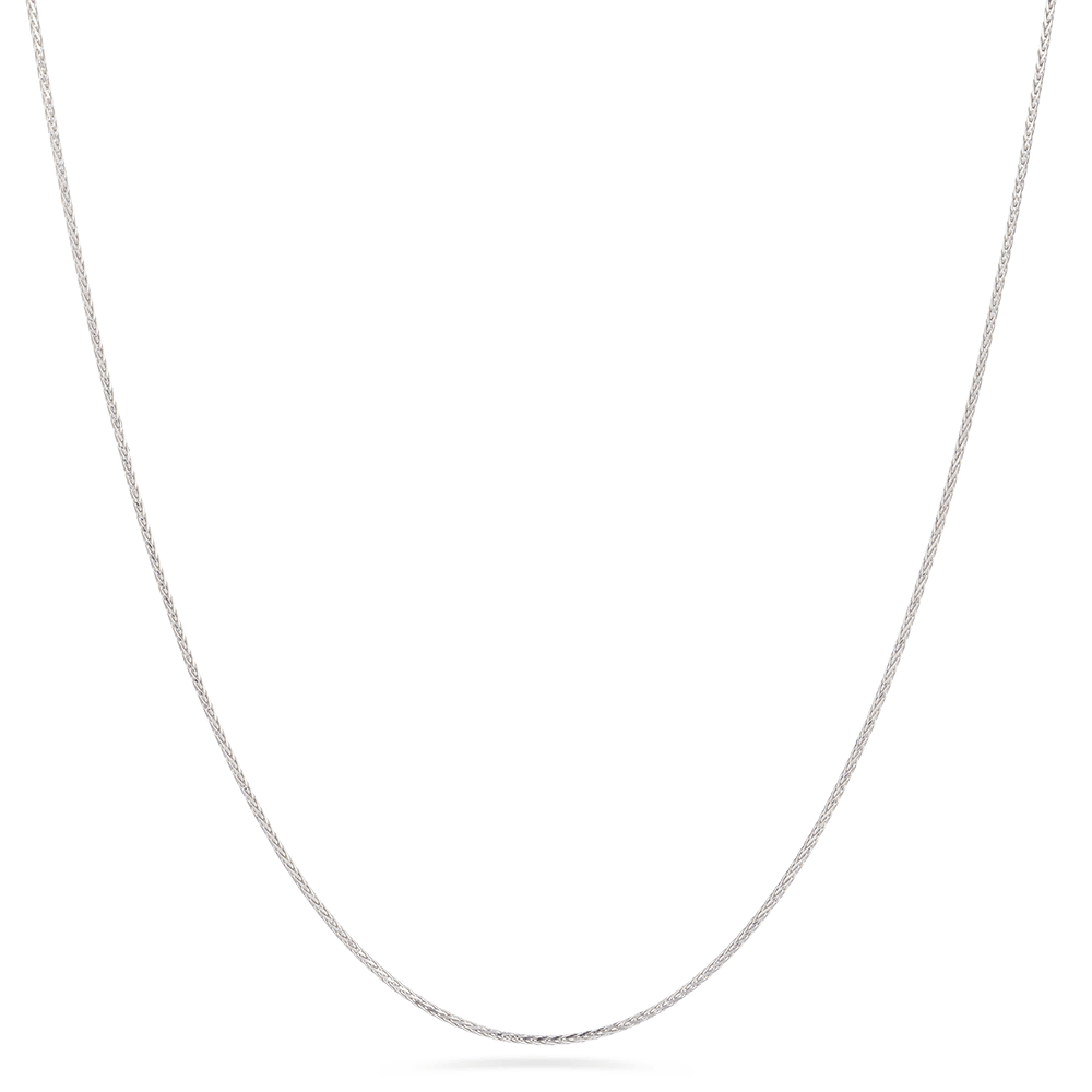 18ct White Gold Foxtail Adjustable ChainWt. 4.6 gLength. 20? inchesSKU. 28451All prices include VAT18ct Gold Hallmarked by London Assay OfficeComes With Presentation BoxDelivery IncludedLive chat with us for availability and more images of similar designs currently in stock
