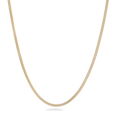 18ct Yellow Gold Fancy Chain 11.0gm 16 Inches
