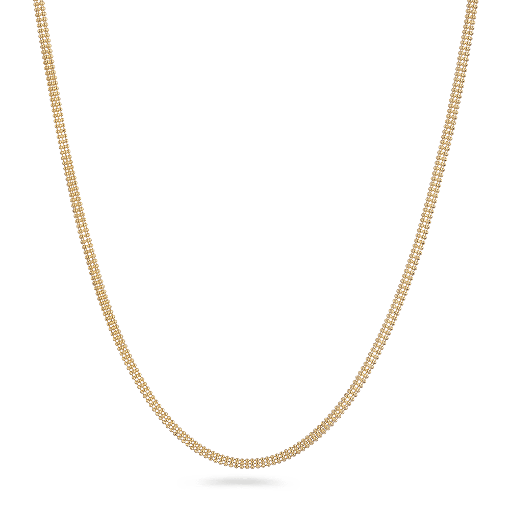 18ct Yellow Gold Fancy ChainWt. 11 gLength. 18? inchesSKU. 9157All prices include VATAll our products are hallmarked by London Assay OfficeComes With Presentation BoxDelivery IncludedLive Chat with us on whatsapp to see entire collection on 18ct Gold Chain.