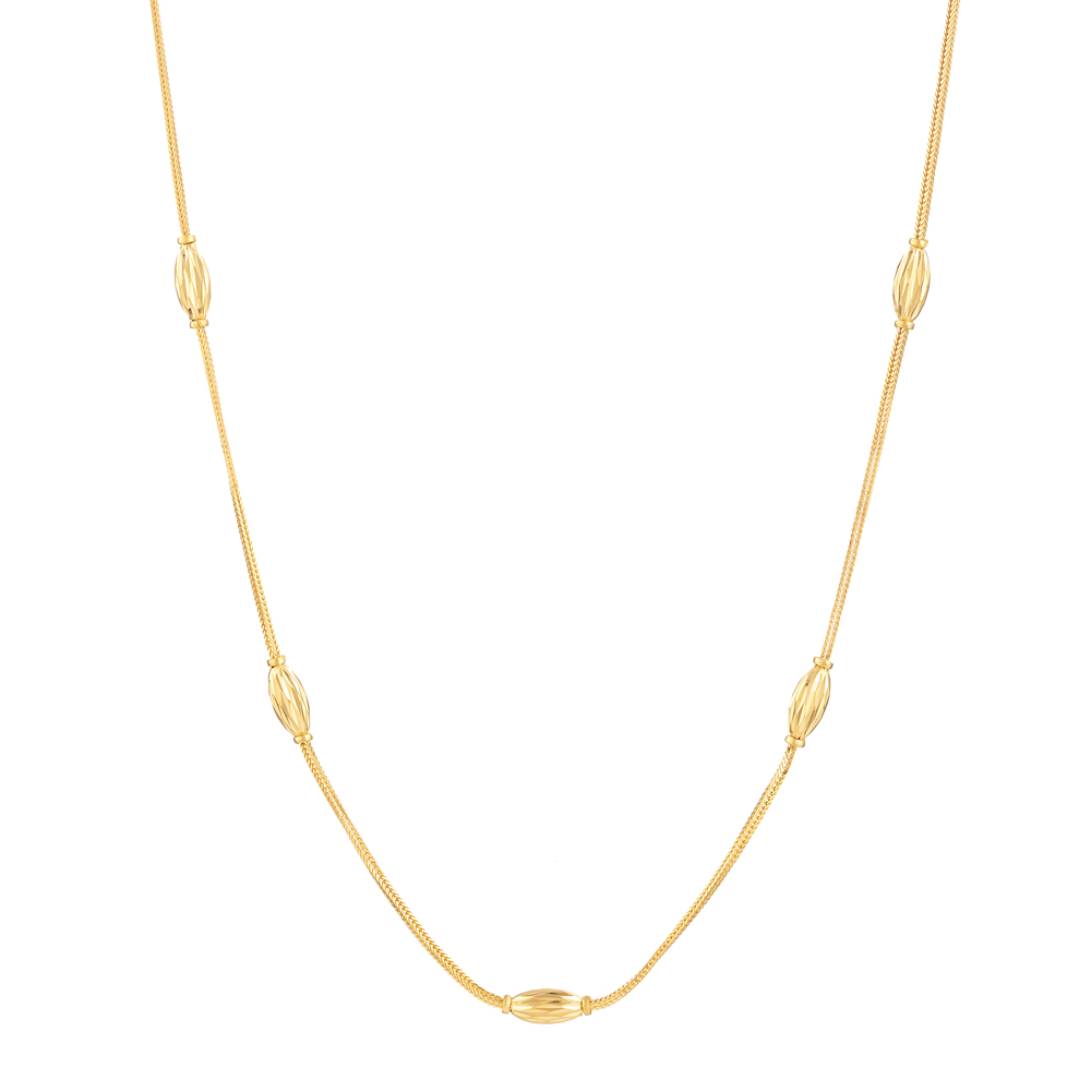 22 Carat Gold Choker chainWith Diamond Cut BallsWt 6.7 gLength : 18 InchesSKU. 31124All prices include VAT22ct GoldHallmarked by London Assay OfficeComes With Presentation BoxDelivery IncludedLive chat with us for availability and more images of similar designs currently in stock
