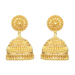 22ct Indian Gold Jhumkha