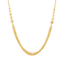 22ct Gold Chain with BallsWt. 16.5  gSKU. 31230All prices include VAT22ct Gold Hallmarked by London Assay OfficeAll Sets Comes With Presentation BoxDelivery IncludedLive chat with us for availability and more images of similar designs currently in stock