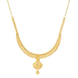 22ct Gold Asian Bridal NecklaceStiff U Choker with a Drop PendantWt: 25.2 gSku 31238All prices include VATAll our products are hallmarked by London Assay OfficeAll set comes with presentation BoxDelivery IncludedLive chat with us for availability and more images of similar designs currently in stock