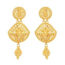 22ct British Hallmarked Bridal Earring