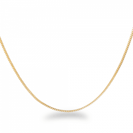 22ct Gold Chain 16 Inches Foxtail CHFX035