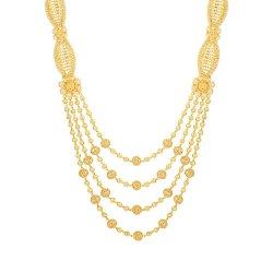 22ct Gold Char Ladda Rani Haar